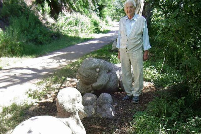 Tier-Skulpturen glänzen wie neu