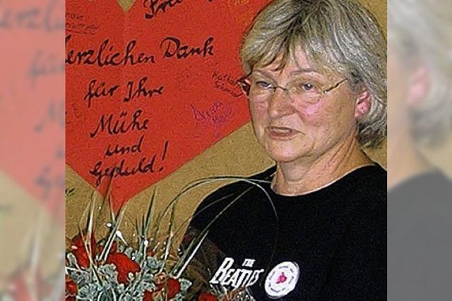 Roswitha Gunkel verabschiedet