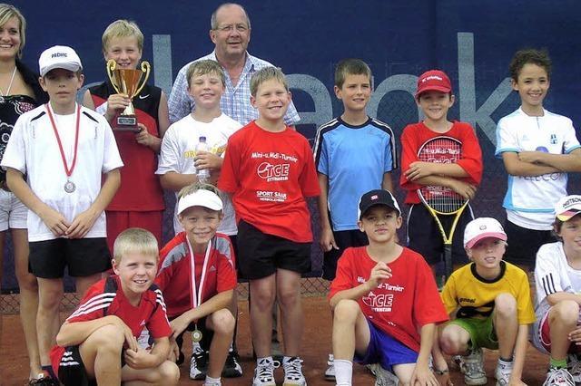 Tennis in Kinderschuhen