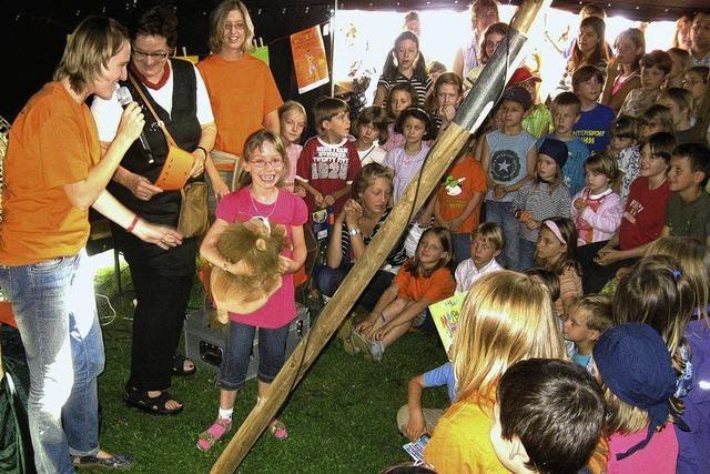 Erstes Kinder-Lese-Fest ein voller Erfolg