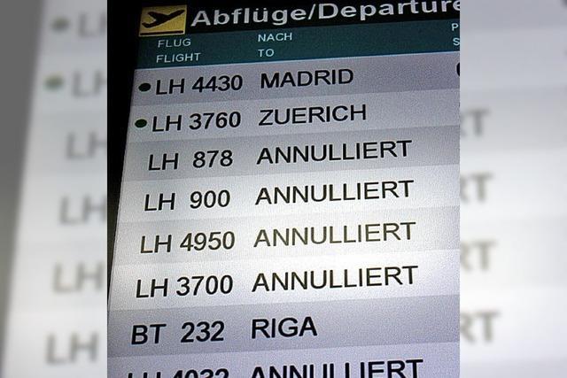 Lufthansa-Piloten streiken weiter bis Mitternacht