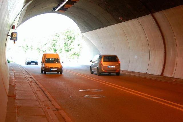 Der Hugenwaldtunnel bleibt nachts dicht