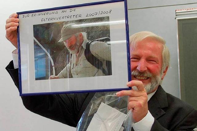 Norbert Legelli sagt der Schule adieu