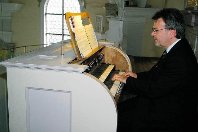 Orgelweihe in Herbolzheimer Stadtkirche