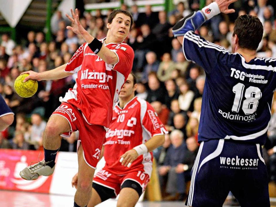 Die Handballer der HR Ortenau  tragen die Heimspiele künftig in Offenburg aus.    | Foto:  Michael Heuberger