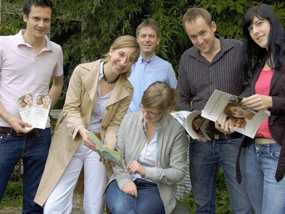 "Studienbotschafter   informierten am M...e ""Abi – was dann?"".  | Foto: Christine Aniol"