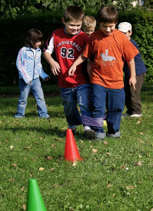 Spiel und Spaß bieten die Ferienprogra...angenen Jahr dieses Bild aufgenommen.   | Foto: BZ-Archiv/Markus Faller
