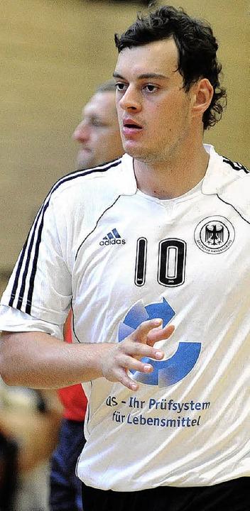 Jens Schöngarth im Trikot des deutschen Teams     Foto:  M. Heuberger