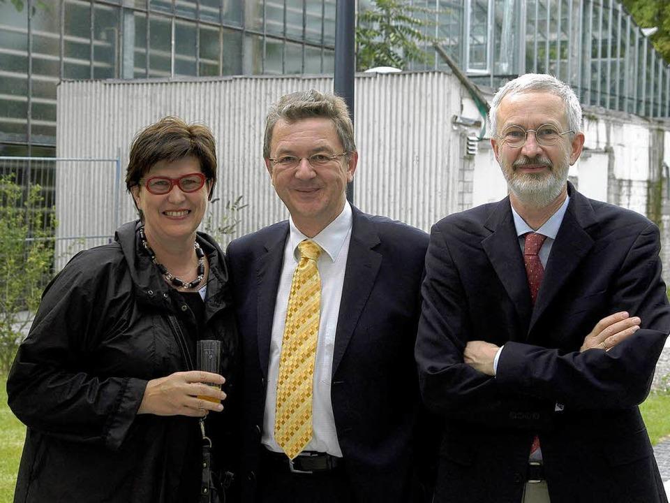 Gescheiterte Kandidaten: Elisabeth Che...eski und Christoph Peters (von links).    Foto: Thomas Kunz