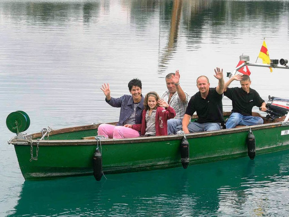 Ein besonderes Ereignis: Das Seefest des Anglervereins Ettenheim  | Foto: Ulrike Hiller