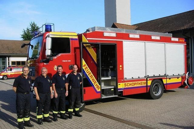 Feuerwehr hat hochmodernes neues Fahrzeug