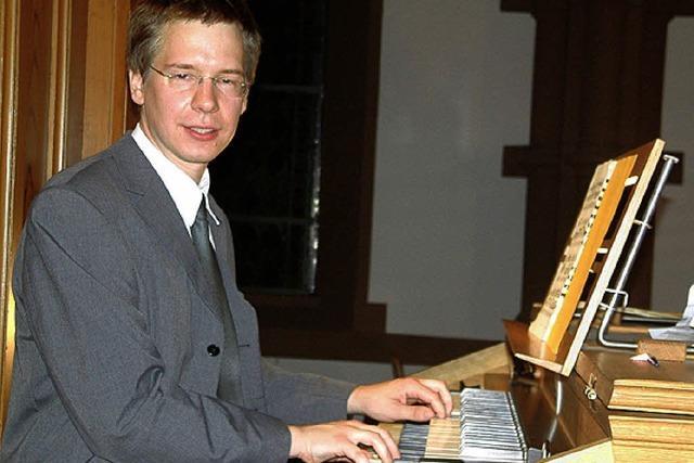 Die Klangmacht der Voit-Orgel beeindruckte sehr