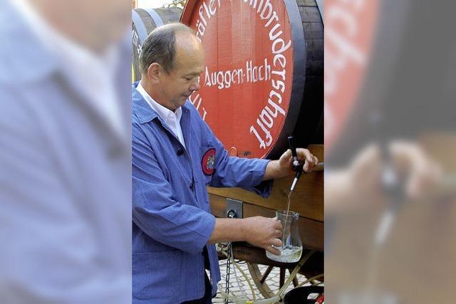 Markgräfler Spezialitäten im Weindorf