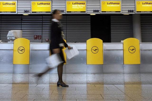 Jetzt bringt der Streik Lufthansa in Not