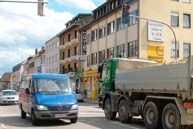 Verkehrsbelastungen nehmen zu