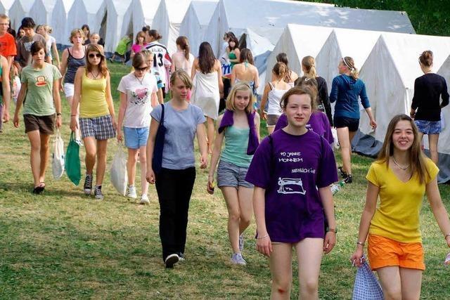 Internationales Zeltlager des Turnerbundes