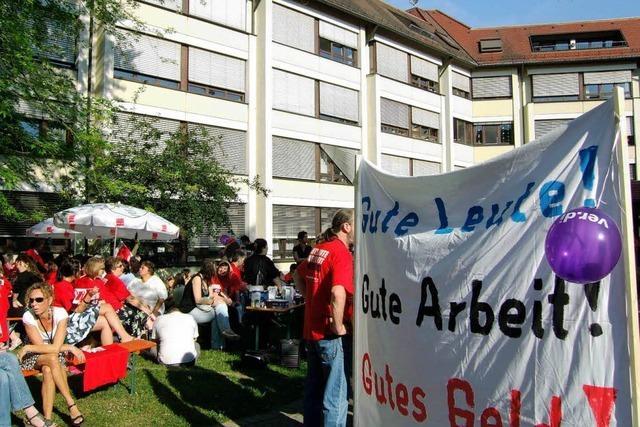 Streik bei den Median-Kliniken geht weiter