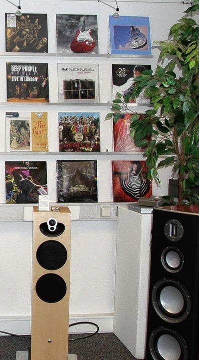 Blickfang und Wohlklang: Schallplatten  | Foto: ATFI