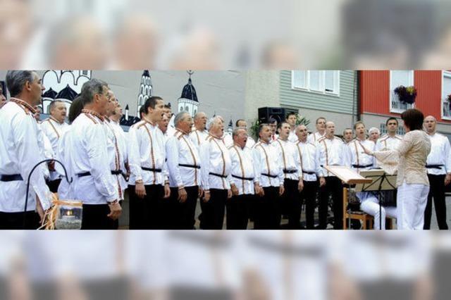 Russische Klänge am Weiherplatz