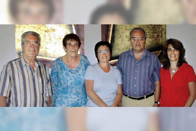 Gesangverein Eintracht hat wieder einen Vorstand