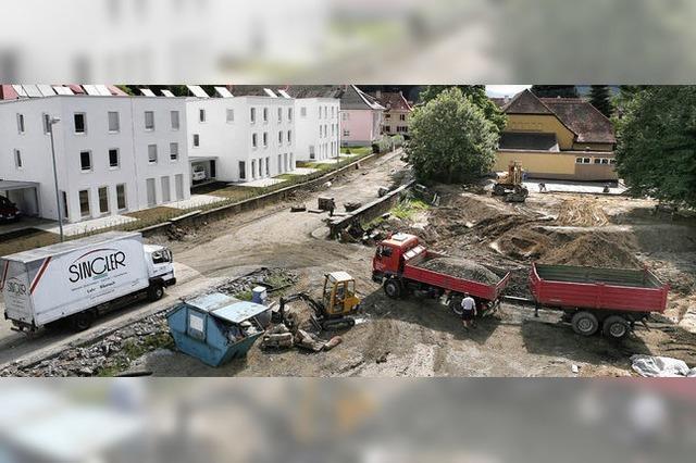 Neues grünes Zentrum für Burgheim