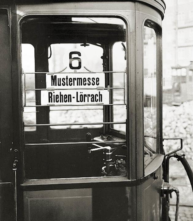 Ein Stück Geschichte.    | Foto: Tramclub Basel