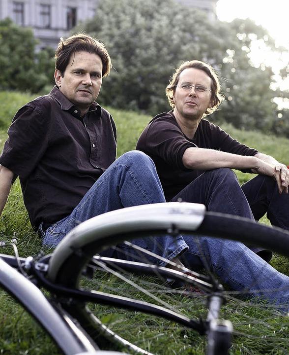 Peter (links) und Martin Unfried