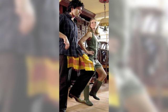 Ein tanzender Iraker in Weilershagen
