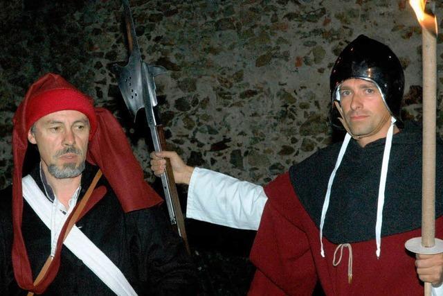 Nachtexkursion mit dem Türmer auf die Burg
