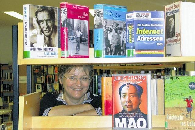 Stadtbücherei: Derzeit großer Andrang