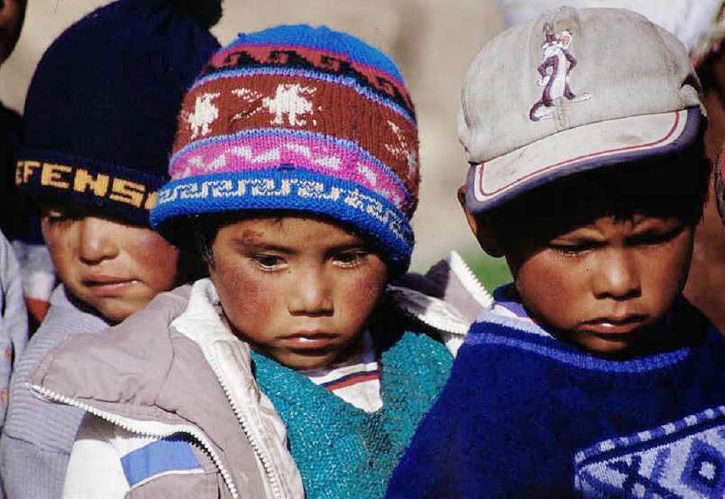Vor allem in der Kinderbetreuung wird ...seines Aufenthalts in Peru tätig sein.  | Foto: privat