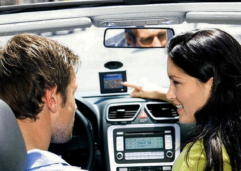 Navigationssysteme im Auto sollen weiterhelfen – nicht ablenken.    | Foto: gms