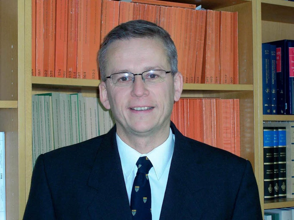 Völkerrechtler Andreas Zimmermann  | Foto: BZ