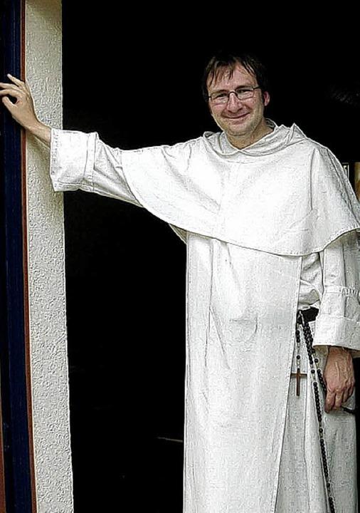 Pater Thomas Gabriel Brogl, der neue Aushilfspfarrer