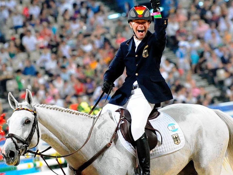 Die Vielseitigkeitsreiter holen zweimal Gold - Olympische Spiele - Badische  Zeitung
