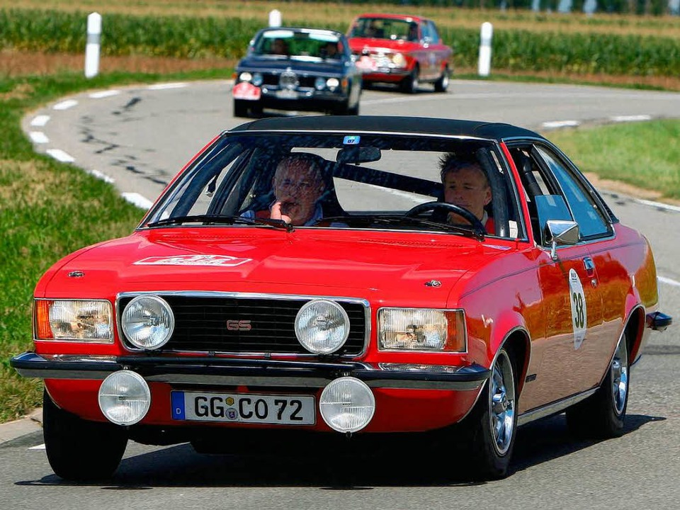Opel Commodore B GS Coupé  | Foto: Veranstalter