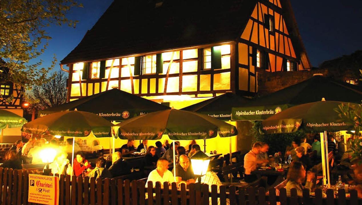 Der  Lieblingsplatz von Albert Rummler... dem Englerbeck-Huus mitten im Dorf.    | Foto: Albert Rummler