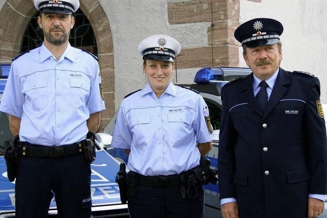 Polizei im Landkreis jetzt auch in blau