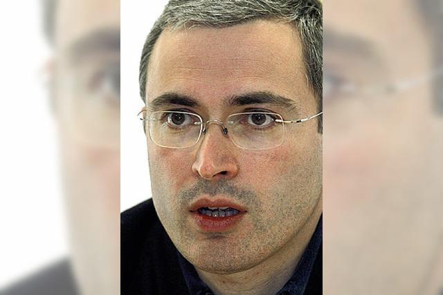 Keine Chance für Michail Chodorkowski