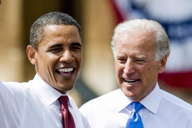 Obama ernennt Biden zu seinem Vize