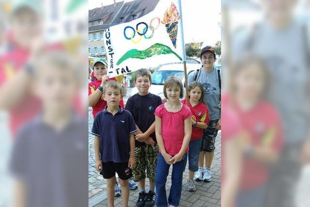 Kirschkernspucken als olympische Disziplin