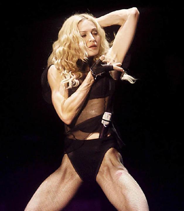 Muskulöse Madonna     Foto: DPA