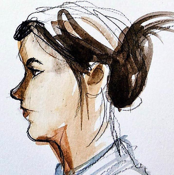 Die Angeklagte Christine S.  | Foto: AFP
