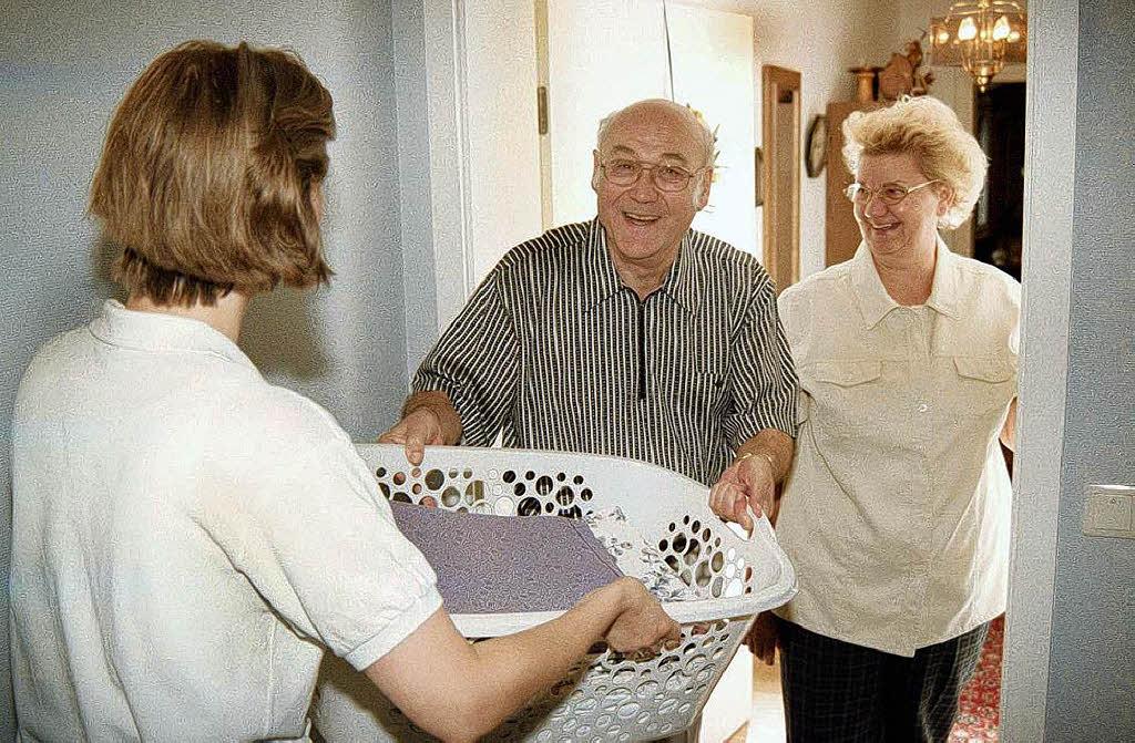 wenn alte menschen in gastfamilien unterkommen ortenaukreis badische zeitung. Black Bedroom Furniture Sets. Home Design Ideas