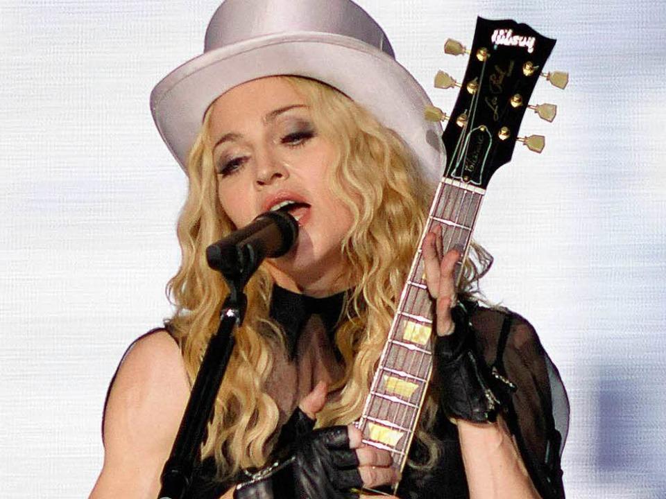 Madonna – hier in Berlin    Foto: ddp