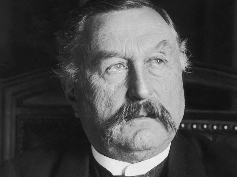 Der Freiburger Constantin Fehrenbach w...Nachfolger der  Politiker dieser Zeit.  | Foto: Privat
