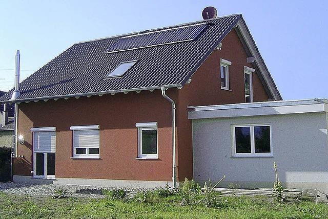 Energie aus Pellets und Solaranlage