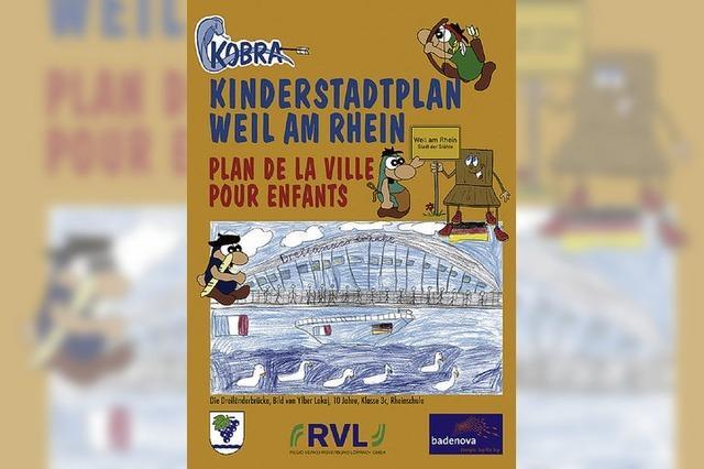 Zum zweiten Mal: Stadtplan für Kinder
