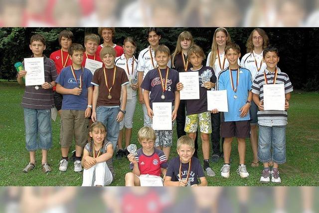 Junge Tennistalente