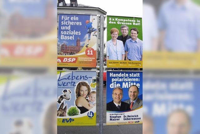 Mit der Neuwahl schrumpft Basels Parlament um 30 Sitze